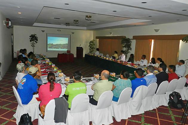 """Mexican Tourism Delegation """"I Discovered Yucatán"""" Visits Belize"""