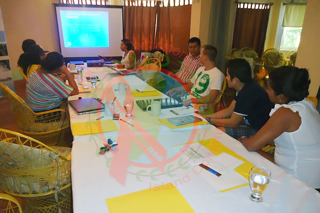 National AIDS Commission Island Committee Undergoes Counseling Training