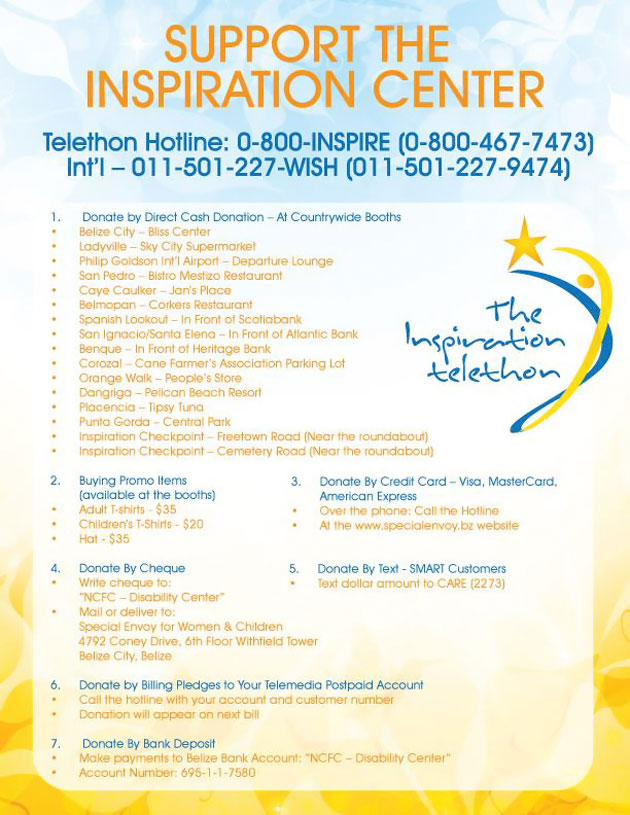 Second Telethon Seeks to Raise $500,000 for Inspiration Center