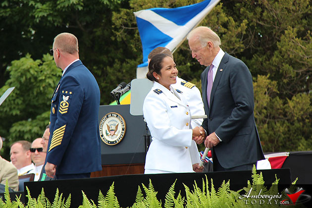 Almita Pinelo Graduates From US Coast Guard Academy