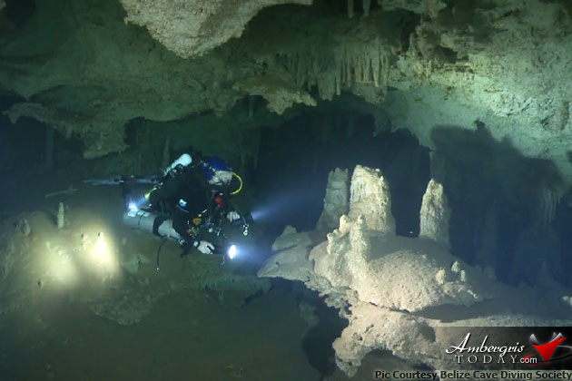 Caye Caulker Boasts the Possibly Largest Marine Cave in the World!!