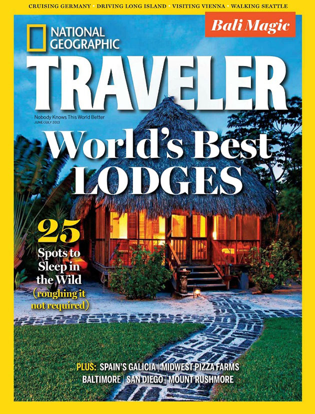 Belize in Cover of National Geographic's Traveler Magazine June/July Issue