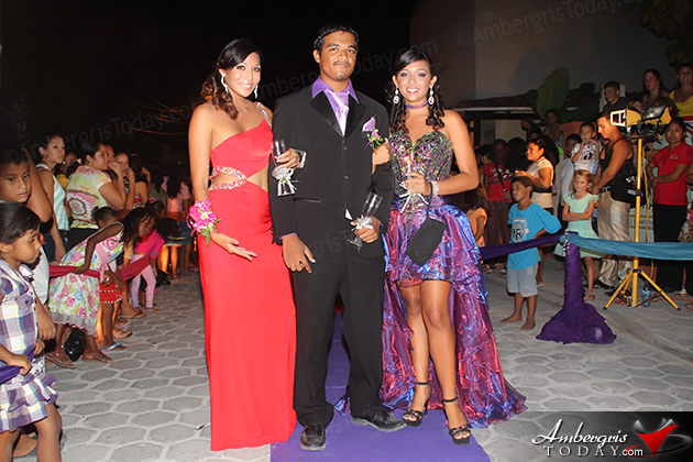 """A Night In Dubai Themed Prom for San Pedro High  San Pedro High School Prom Night has become a spectator's sport on Ambergris Caye as hundreds flocked to the street outside of Banana Beach Resort, prom venue, to marvel at the beautiful dresses and suits worn by the senior class of 2013.  This year's prom theme was """"A Night in Dubai"""" and was held at El Divino Restaurant on Thursday, June 13, 2013.  Prom King was awarded to Min Ling Chen Prom Queen was awarded to Arian Paz"""