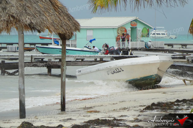 Never Underestimate a Small Tropical Depression, Belize Drenched