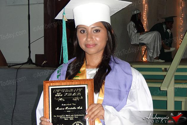 91 March at San Pedro High Graduation