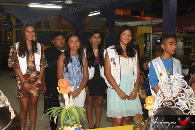 Rigoberto Kumul Sworn in as New President San Pedro Lions Club