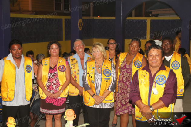 Rigoberto Kumul Sworn in as New President San Pedro Lions Club