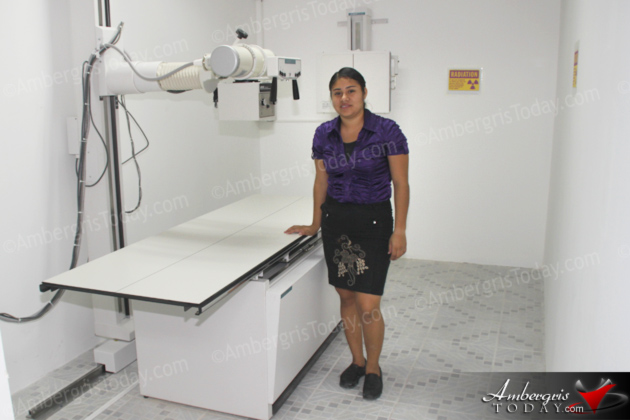 X-ray Facility Now Operational at San Pedro Poly Clinic