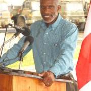 CEO in Belize's Ministry of National Security Colonel (Ret.)  George Lovell