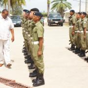 Minister of National Security visits Annual Volunteer Battalion Battle Camp