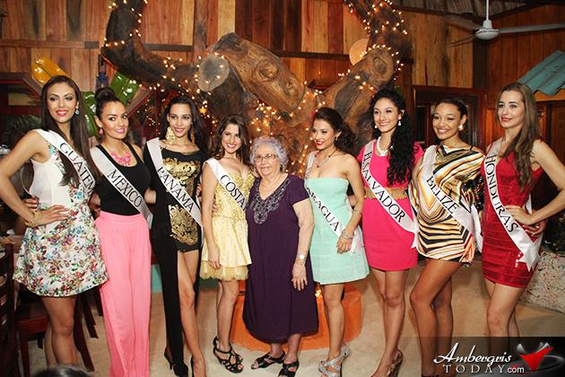 Elvi's Kitchen Hosts The Miss Costa Maya Delegates