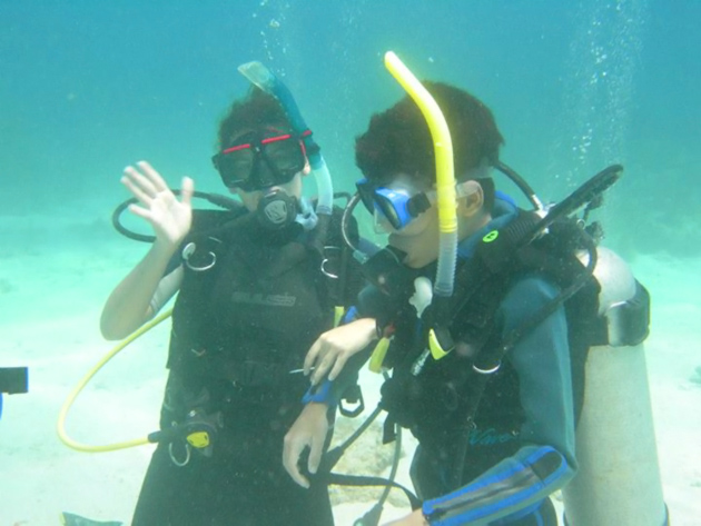 Rowan Garel - Visually Impaired Teen Dives Belize Blue Hole