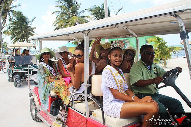 Costa Maya Delegates Celebrate Belize