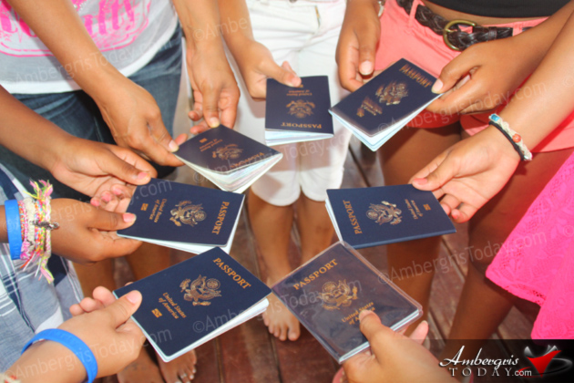 The Passport Party Project Arrives in Belize