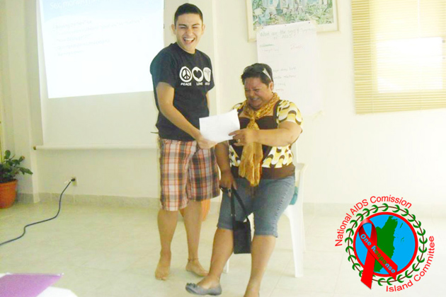 Stigma and Discrimination Training by National AIDS Commision