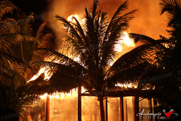 Ambergris Caye's Iconic Ramon's Village Resort Goes Down in Massive Fire