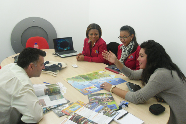 Belize Goes To London on Marketing Campaign