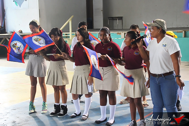Patriotic Children's Rally Held in San Pedro