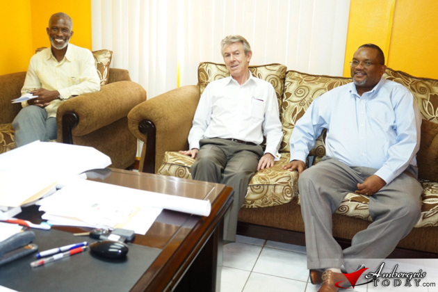 New British High Commissioner Makes Courtesy Call to Minister of National Security