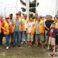 Belize City Lions Club National Service Day Activity