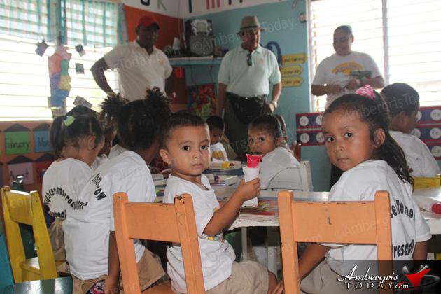 Mayor Danny Visits Schools on National Service Day