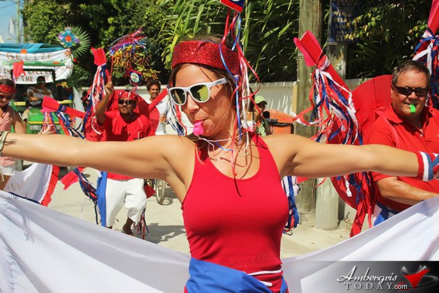 San Pedro Parades In All Colors Celebrating Belize S