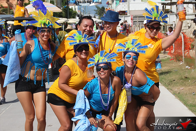 San Pedro Parades in All Colors Celebrating Independence Day