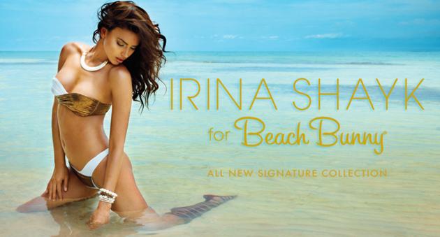 Irina Shayk for Beach Bunny
