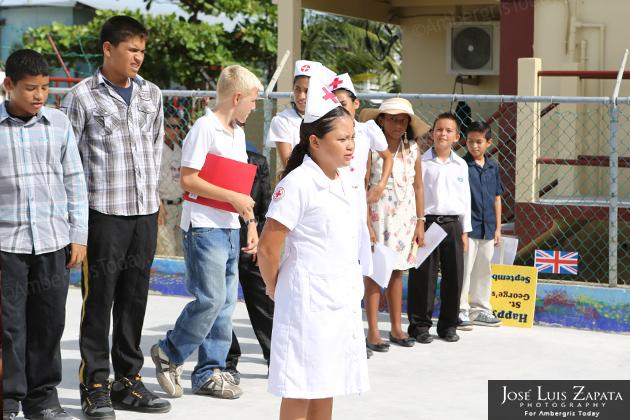 Belize National Hero Day Presentation at Isla Bonita Elementary School