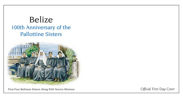 100th Anniversary of the Pallotine Sisters in Belize Celebrated with New Stamps Issue