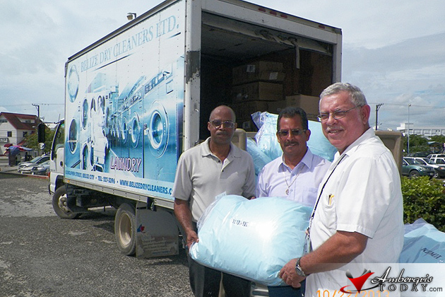 Ministry of Health receives donation of Antimicrobial Pillows