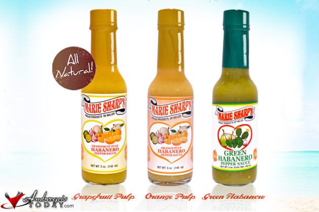 Fresh Fruit Flavors by Marie Sharp's Habanero Sauce