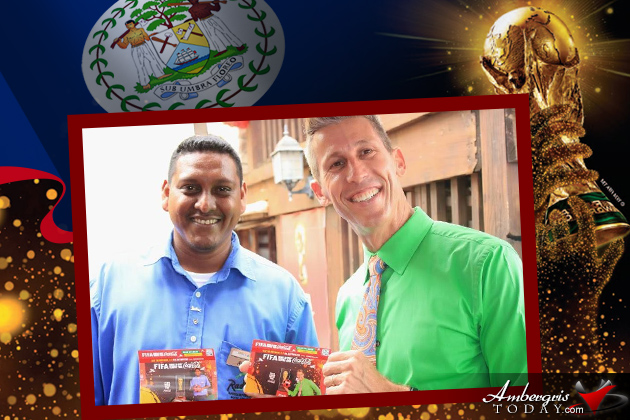 FIFA World Cup Trophy Tour by Coca Cola Comes To Belize