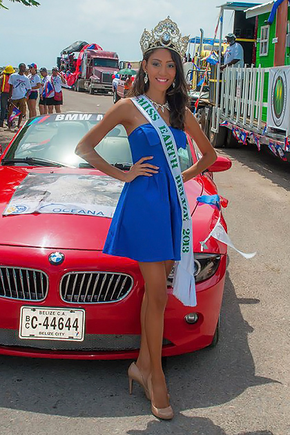 Miss Earth Belize 2013 Off to the Philippines