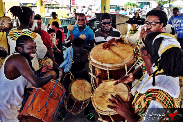 Garifuna Settlement Day Celebrations in San Pedro
