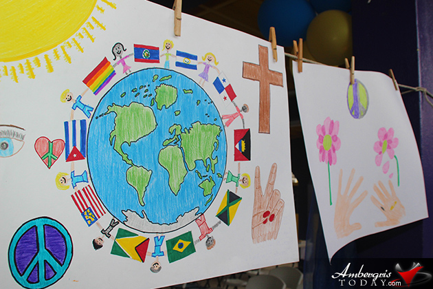 San Pedro Lions Club Announces Peace Poster Winners