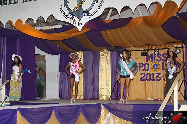 San Pedro Lions Queen Pageant 2013