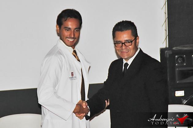 Washington University of Health and Science (Belize) Holds White Coat Ceremony