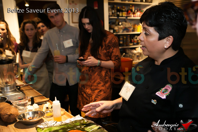 Belizean Cuisine A Hit in New York with Chef Jennie Staines, Elvi's Kitchen