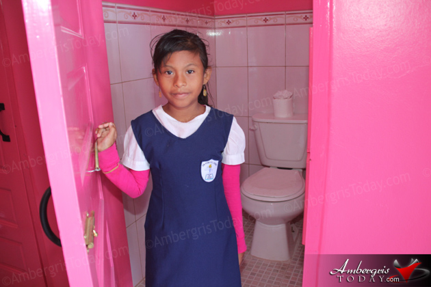 UNICEF Sponsors Bathroom Renovation at San Pedro Roman Catholic School
