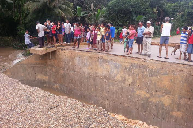 The U.S. Office of Foreign Disaster Assistance Help Belizean Flood Victims