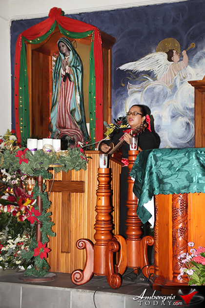 San Pedro Pays Tribute to Virgin of Guadalupe