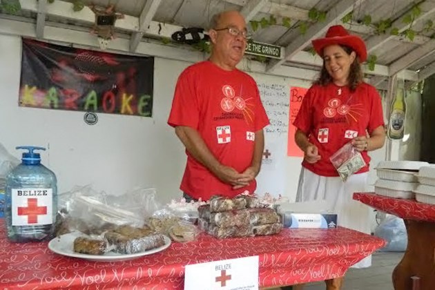 A Very busy Holiday Season for the San Pedro Belize Red Cross