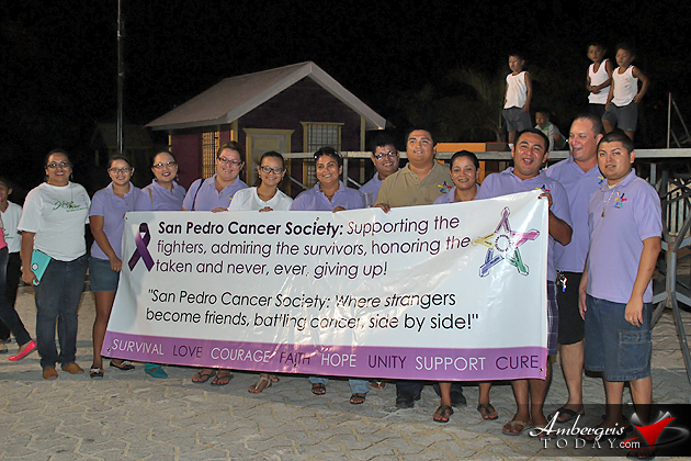 San Pedro Shows Support at Cancer Walk 2014