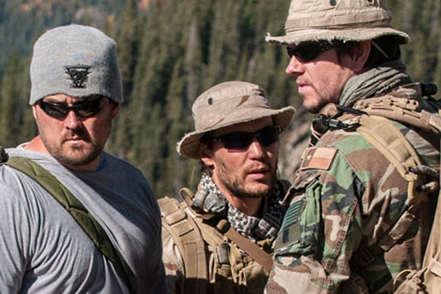 US Navy Seal Celebrity Marcus Luttrell Vacations in San Pedro