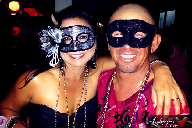 San Pedro Carnival Kicks off with Masquerade Ball at Holiday Hotel