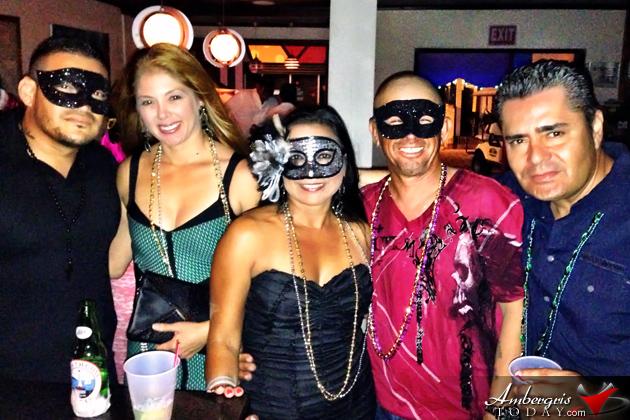 San Pedro Carnival Kicks off with Masquerade Ball at Holiday Hotel