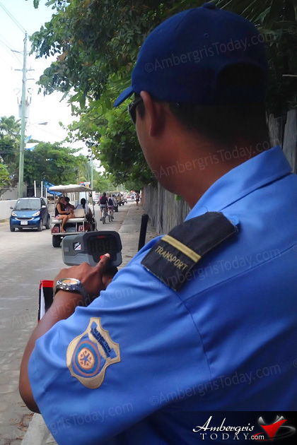 San Pedro Traffic Department Now Equipped with Speed Guns
