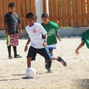 San Pedro Sports Council Hosts Football Clinics