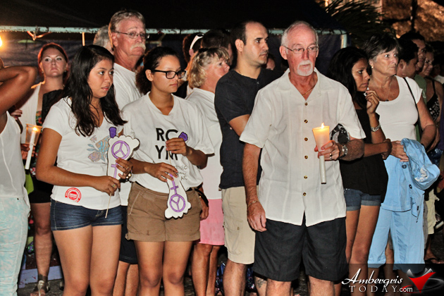 Hundreds Leave Footprints for Peace at Anti-Crime Rally -Justice for Jeffrey Eiley